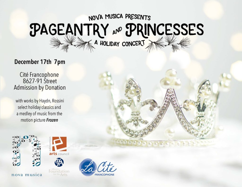 Pageantry & Princesses Poster